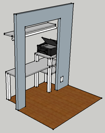 proposed closet design